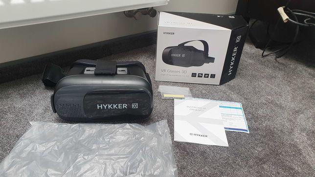 Gogle google VR 3d okulary do smartfonu telefonu 3D Hykker virtual