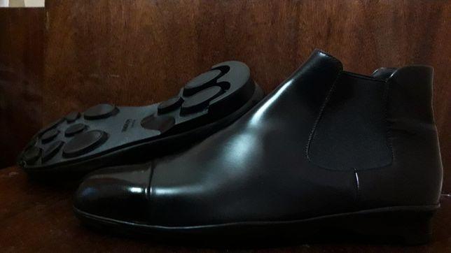 Prada Luxury Prestige оригинал Италия Милан ботинки сапоги Челси