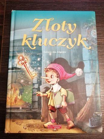 """Książka dla dzieci """"Złoty kluczyk"""""""