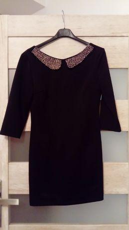 Mini Sukienka Fressia czarna klasyczna