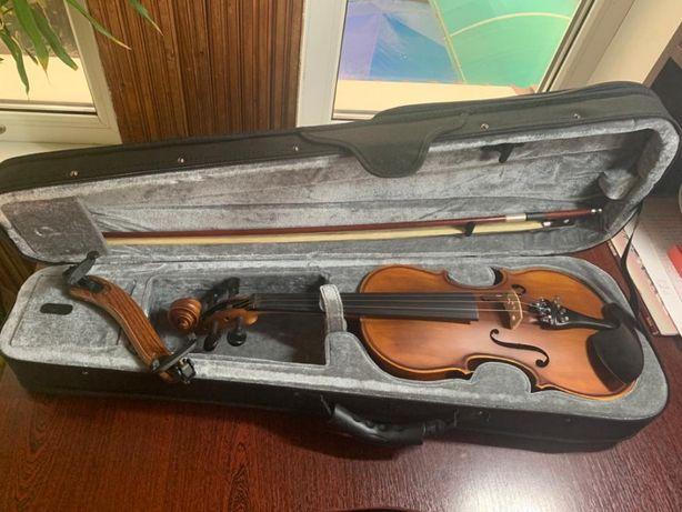 Скрипка Infinity новая 4/4 + мостик + футляр
