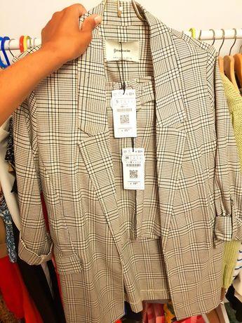 Conjunto blazer e calções novo