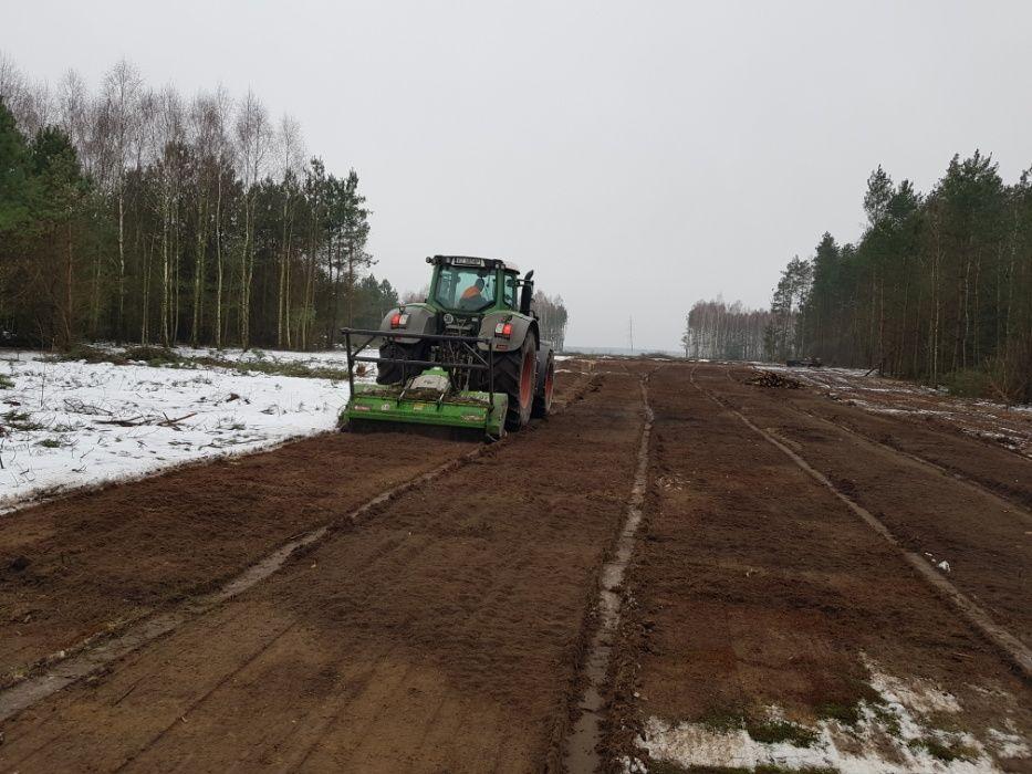 Frezowanie pni, wycinka, rozdrabnianie, karczowanie pni, mulczer leśny Gorzów Wielkopolski - image 1