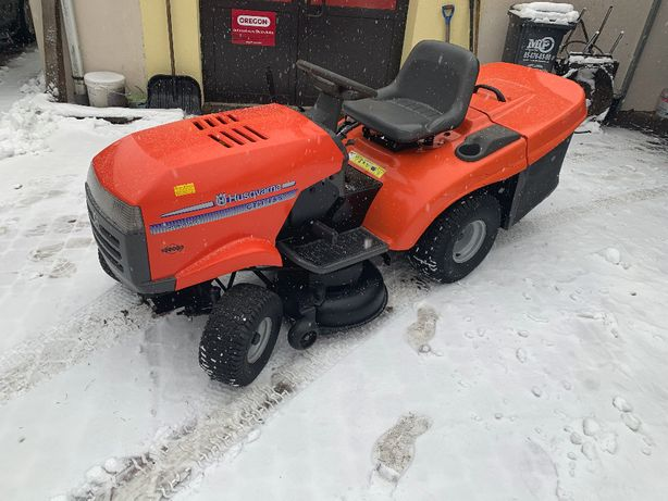 kosiarka traktorek ogrodowy Husqvarna 15,5HP Hydrostatic
