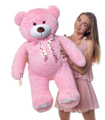 Плюшевый мишка Чарли 110 см Розовый (10)
