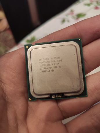 Процессор Intel pentium dual-core.