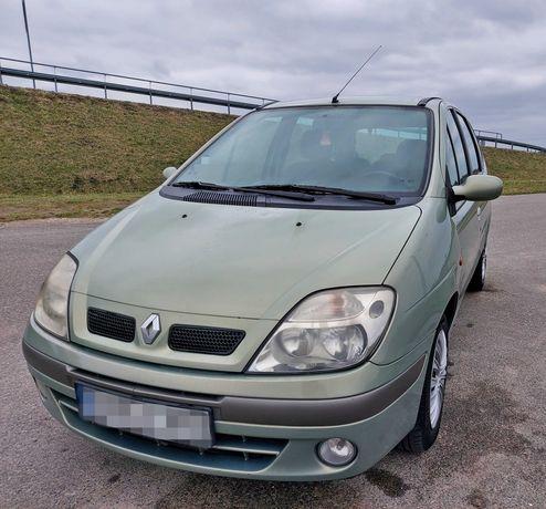 Renault Scenic 2002r. 1.9 Dci / KLIMA/ EL. SZYBY/ DŁUGIE OPŁATY !!