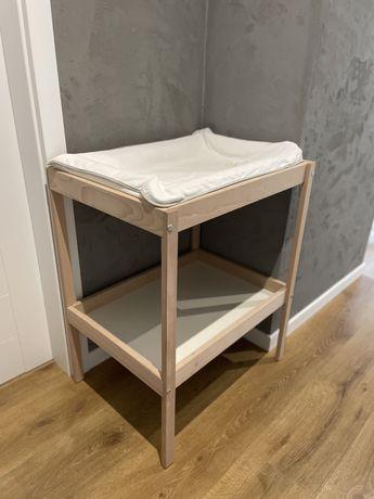 SNIGLAR stół do przewijania przewijak IKEA zestaw jak nowy