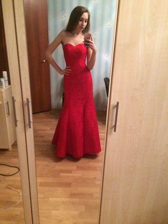 """Платье """"рыбка"""" на выпускной, вечернее"""