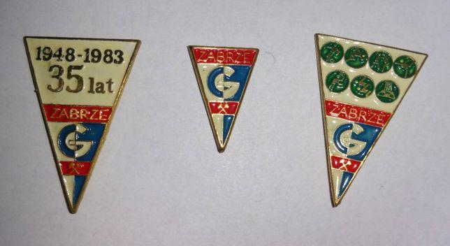 Górnika Zabrze - odznaki