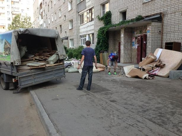 Вывоз и утилизация мусора в Киеве ГАЗель с погрузкой! Все районы !