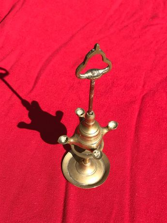Lanterna lamparina azeite antiga