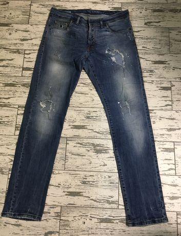 Чоловічі джинси Kevin up 32 / 33 розмір ОРИГІНАЛ ITALY