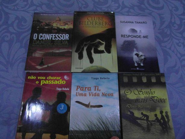 Livros Variados - Thriller e Drama