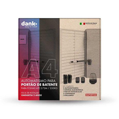 Dank A4 | Automatismo para Portões de Batente