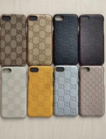 Чехлы IPhone 8, 8+ из кожи