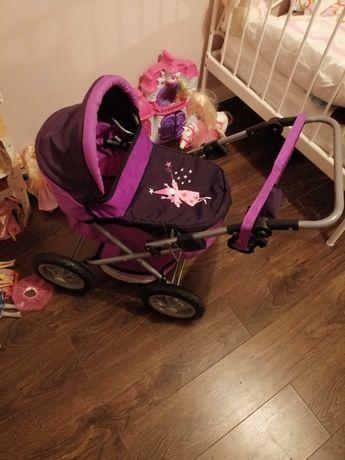 Wózek dla lalek składany