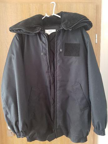 kurtka typu moleskin koloru czarnego
