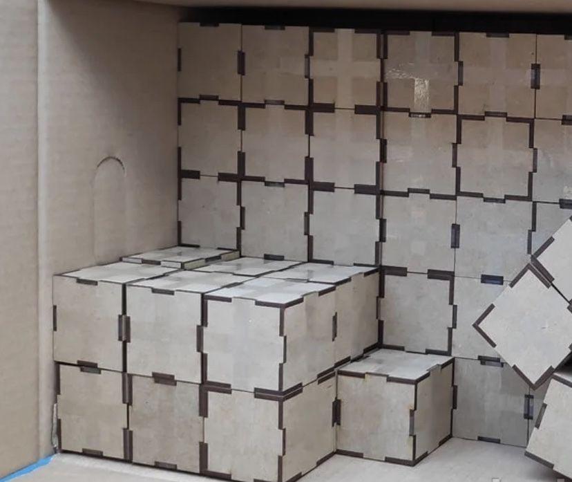 Кубик из МДФ заготовки для фотокубиков Алексеевка - изображение 1