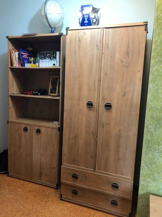 Meble BRW Indiana szafa biurko regał komplet TRANSPORT Łosice - image 1