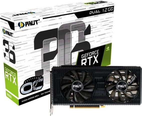Placa Gráfica PALIT GeForce RTX 3060 Dual OC