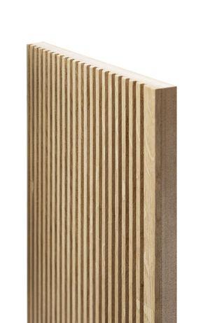 Drewniane Panele Dekoracyjne   Lamele Dębowe