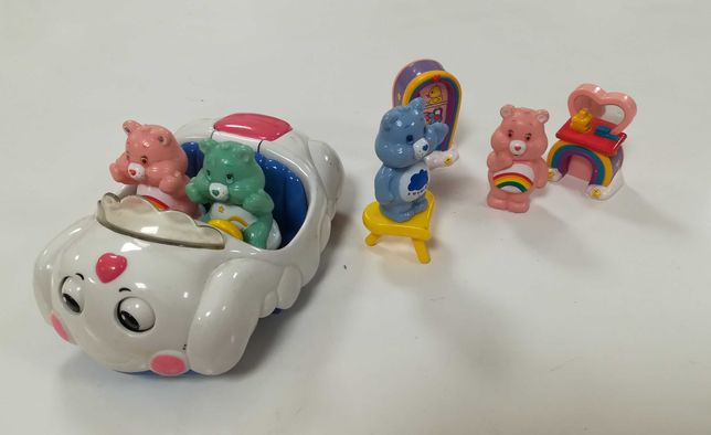 Conjunto ursinhos carinhosos com carro