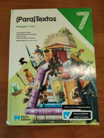 """""""(Para)Textos"""" Português 7⁰ ano, Porto editora"""