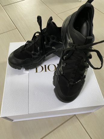 Dior D-Connect black technical fabric