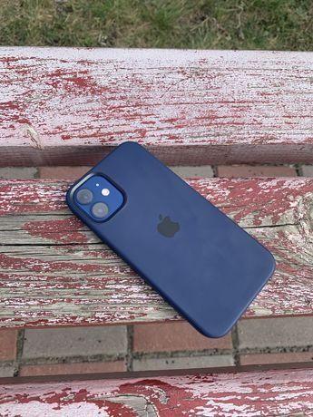 Нашел айфон 12 синий на 128ГБ.