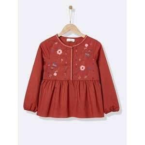 Блуза кофточка Cyrillus для девочки 8 лет Франция