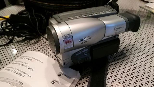 Kamera VHS Canon oldschool
