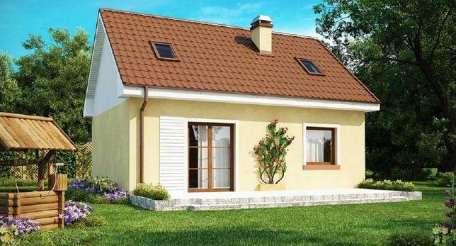 В место квартиры уютный домик по цене 42300 у.е. 54м2 + мансарда 40 м2