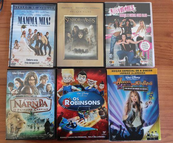 DVD Filmes e Concertos