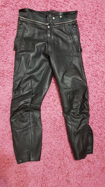 Skórzane spodnie motocyklowe damskie r.36-38