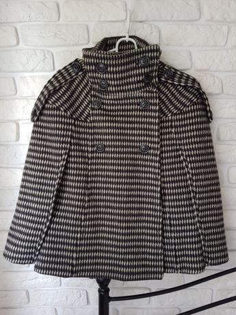 Kurtka płaszcz ponczo poncho Zara r. M