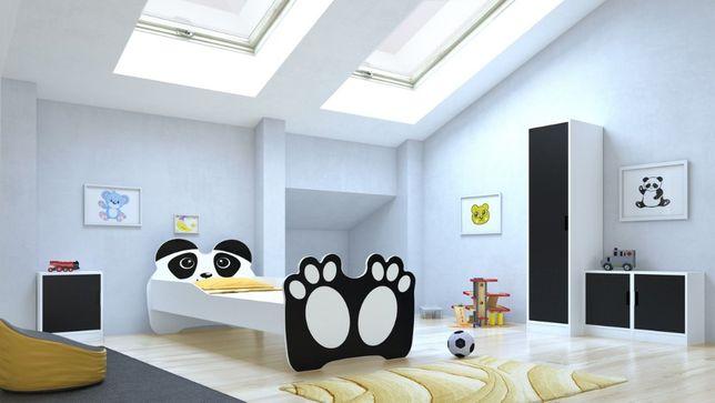 Łóżko dziecięce PANDA 160x80 z materacem Darmowa Dostawa!