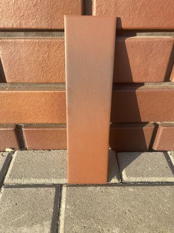 Płytki ścienne klinkier Cerrad brązowy mat