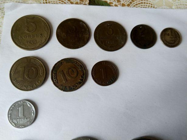 Монеты СССР 1961 - 1992 года