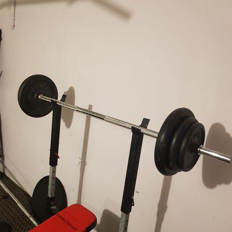 Siłownia sztanga 80kg