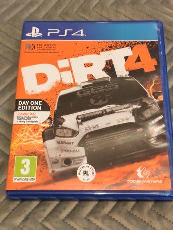 Dirt 4 PS4 używana