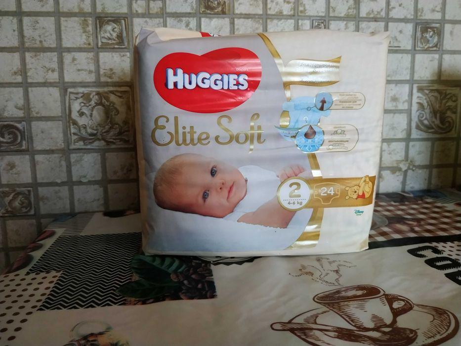 Памперсы (подгузники) Huggies elite soft 2 Херсон - изображение 1