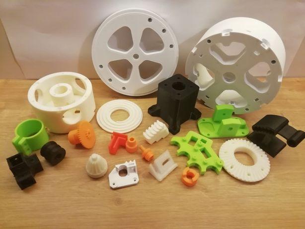 Druk 3D Drukowanie Prototypowanie Kooperacja Dokumentacja Drukarka