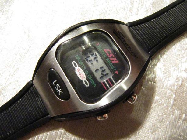 Детские часы электронные, металлический верх, новые