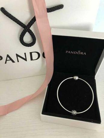 Nowa oryginalna bransoletka Pandora Essence bangle sztywna 20 cm 18 19