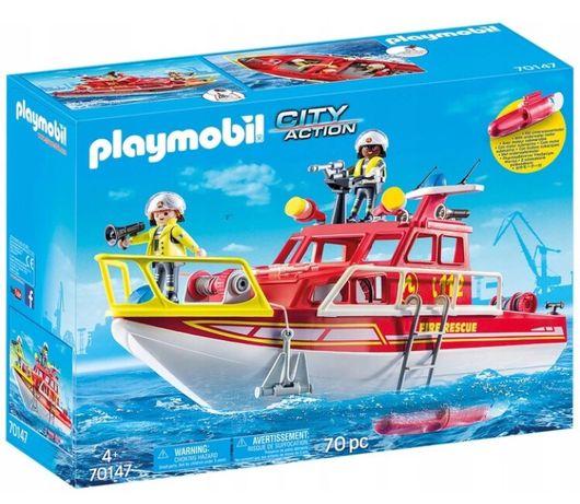 Playmobil City Action 70147 Łódź ratownicza straży pożarnej