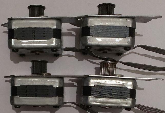 шаговый двигатель NEMA 17 для чпу