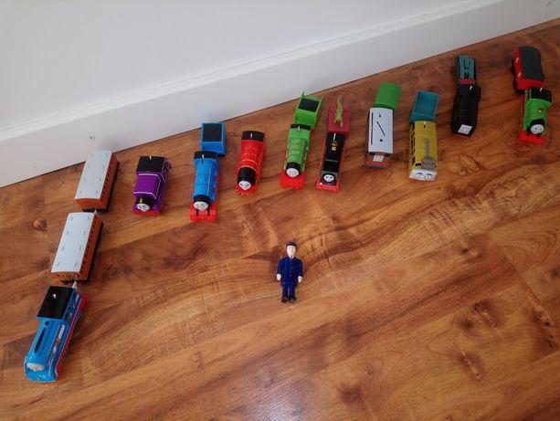 Duży zestaw Tomek i przyjaciele Master Truck