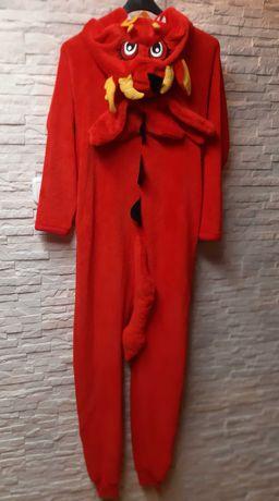 Kombinezon piżama dres, kigurimi XS/S 164/170 smok, skrzydła