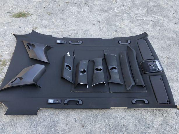 Черный потолок BMW X5 E70 чорний БМВ Х5 Е70 Ручка Плафон Разборка